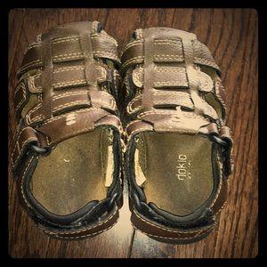 Toddler Boys Brown Sandals
